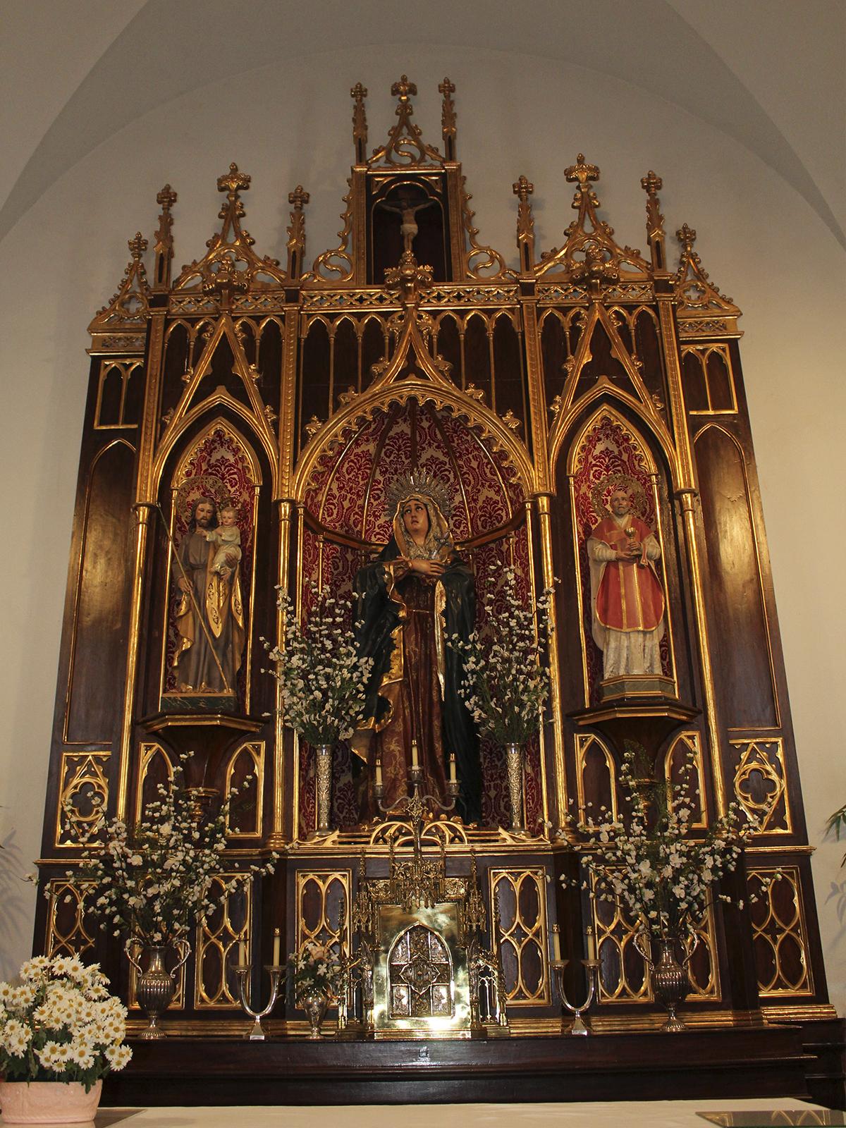 Capilla del Colegio Nuestra Señora de los Dolores