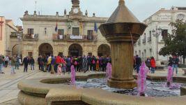 El Ayuntamiento de Guareña se suma al 25N