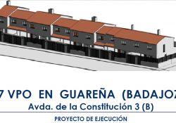 URVIPEXSA, organismo dependiente de la Junta de Extremadura, saca a licitación el contrato de obras para la construcción de 7 VPO en la Avenida de la Constitución nª 3