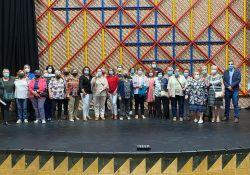 Visita a la reforma del Centro Cultural