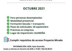 """Curso de """"Horticultura, fruticultura y gestión de residuos alimentarios"""" en Guareña"""