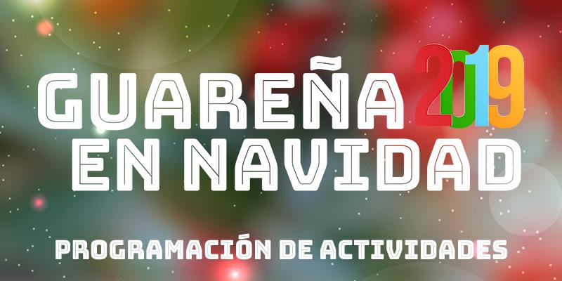 Programación de Actividades Navidad 2019 en Guareña