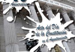 El Ayuntamiento conmemora este martes el 40º aniversario de la Constitución