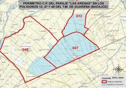 """Información Pública Bases Provisionales Concentración Parcelaria """"Las Arenas"""" en Guareña"""