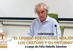 VIDEO: Conferencia 'El legado poético de El Miajón de los Castúos y su entorno' a cargo de Félix Rebollo Sánchez