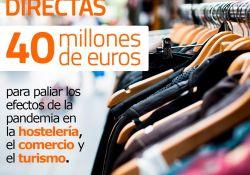 La Junta de Extremadura lanza el plan de ayudas para la recuperación y reactivación de la hostelería, turismo, comercio y otros sectores
