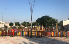 Inauguración Parque '8 de Marzo'