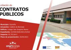 Diputación de Badajoz invierte 142.000 euros en las instalaciones de calderas de biomasa en el C.E.I.P. San Gregorio de Guareña
