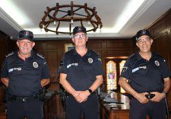 Concedida la Medalla de Oro a la Permanencia en el Cuerpo de la Policía Local a tres agentes de nuestra localidad