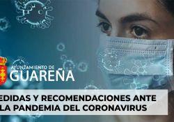 Medidas y Recomendaciones en Guareña ante la pandemia del COVID-19