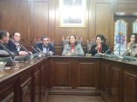 Reyes Maroto, Ministra de Industria, Turismo y Comercio visita Guareña para conocer INQUIBA y su potencial como empresa en el sector industrial