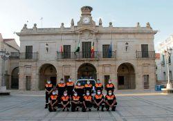 El Ayuntamiento recibe una subvención de 10.000 euros destinada a la Agrupación Local de voluntarios de Protección Civil y Bomberos de Guareña