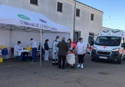 El Centro de Salud de Guareña continúa con el Plan de Vacunación frente al COVID-19 en la Zona Básica de Salud