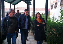 El Ayuntamiento de Guareña recibe a la portavoz de la Junta de Extremadura